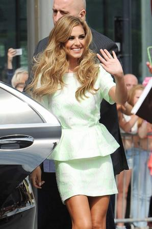 01.08 - Cheryl Cole aux auditions X Factor, Londres