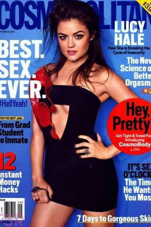 Lucy Hale @ Cosmopolitan Magazine