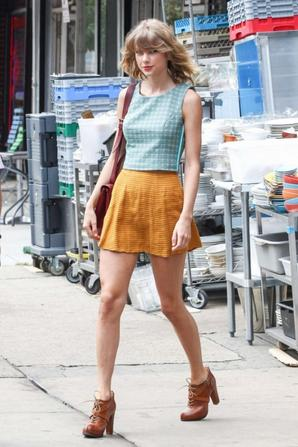 06.08 - Taylor Swift dans New-York