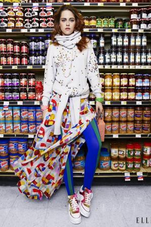 09.08 - Kristen Stewart @ ELLE Magazine