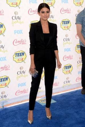 10.08 - Selena Gomez @ Teen Choice Awards