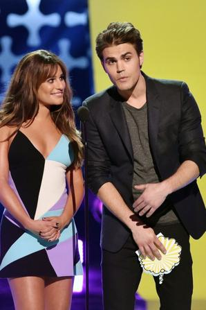 10.08 - Lea Michele @ Teen Choice Awards