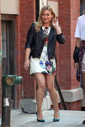 "20.09 - Hilary Duff sur le set de son clip ""Younger"""