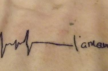 Autre Tattoo sur Peau de Cochon
