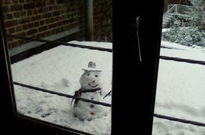 Le Bonhomme de neige de tonton...