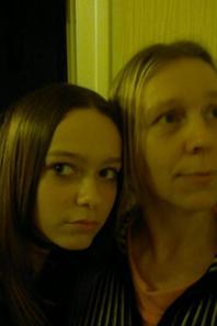 ma fille morgane & moi <3