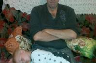 mon homme & mon fils timéo 2 ans & ma fille nolane 3 ans <3