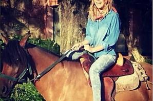 Tini est allée faire du cheval !!!