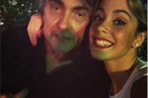 Tini et son père !!