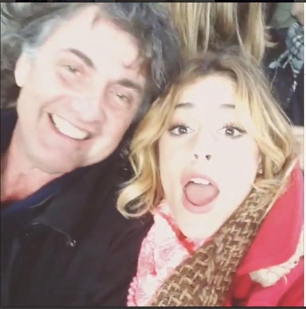 Tini et son père