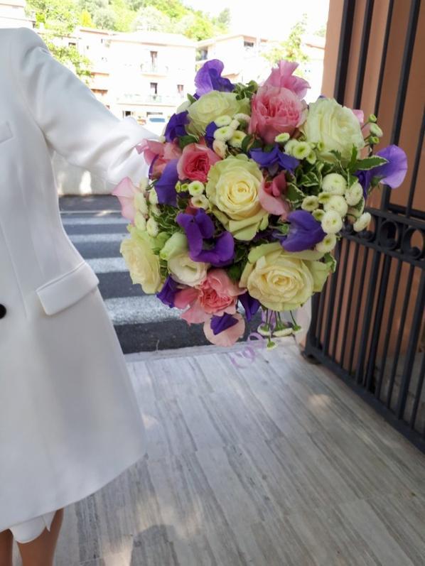 mariage de christine et yvon sur le thème : randonnées en forêt... réalisé par fleur'art