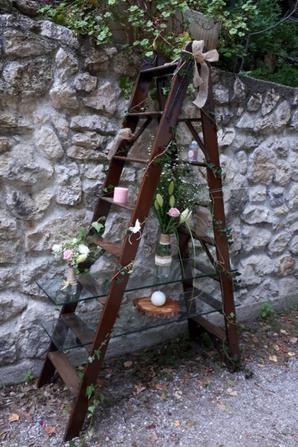 mariage de lisa et jean marc réalisé par fleur'art
