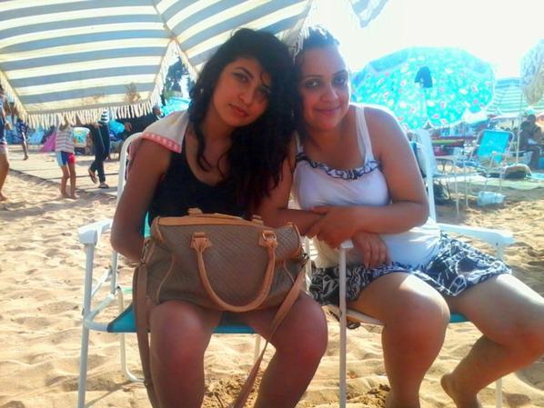 avec ma belle soeur que j'aime <3