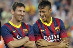 Messi Neymar des jumeaux