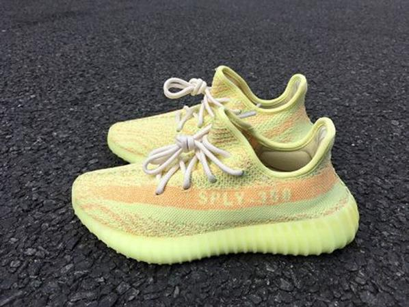 Adidas Yeezy 350 Boost V2 Fluorescence Yellow