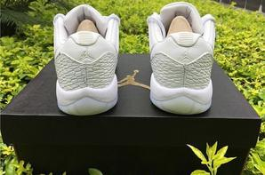"Air Jordan 11 Low GS PRM HC ""Frost White"""