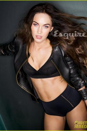 Megan Fox à la une  de ....