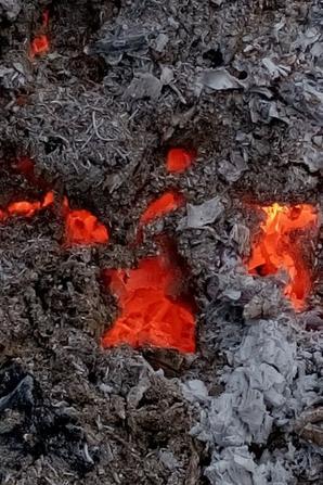 un feu qui couve....