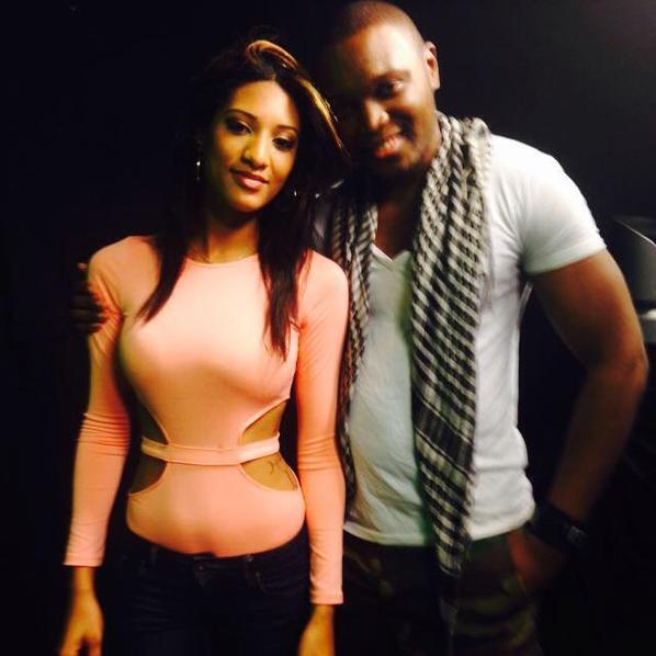 Tourgae emission tv Afronight sur télésud avec la jolie Leslie