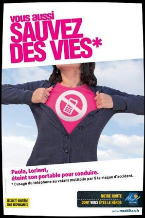 Campagne publicitaire Sécurité Routière