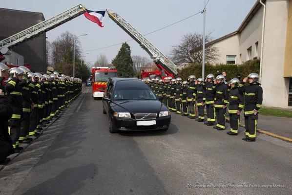 dernier hommage au sergent Aurélie Salel