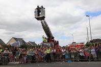 Merci aux Pompiers d'être présent lors du #TourDeFrance