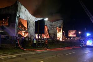Rennes (35) Un magasin de motos détruit par un incendie cette nuit !
