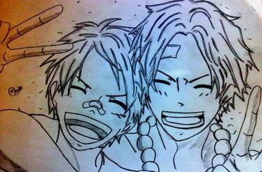 Deux autres dessins de Miyu :D