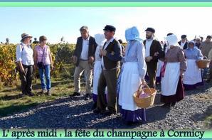 La fête desChampagne au village de Cormicy