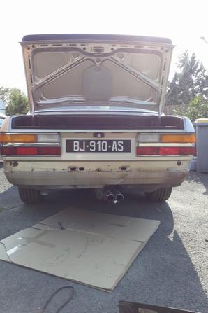 Kit carrosserie retirer pour voir a quoi elle ressemblera après sa restauration