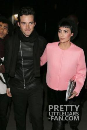 Ian Harding  à la fashion week de Paris