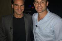 Roger Federer et Andy Roddick
