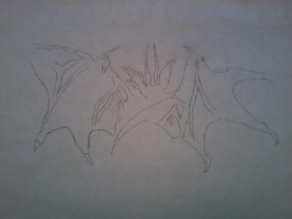 dessin rapide en 3 etape