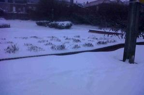 Neige le 12 mars 2013 !