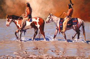 Indien et chevaux