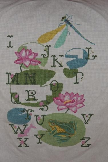 Mon avancée dans le porjet ABC florale...