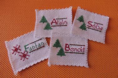 Mes Créas : Marques Places pour Noël...2014