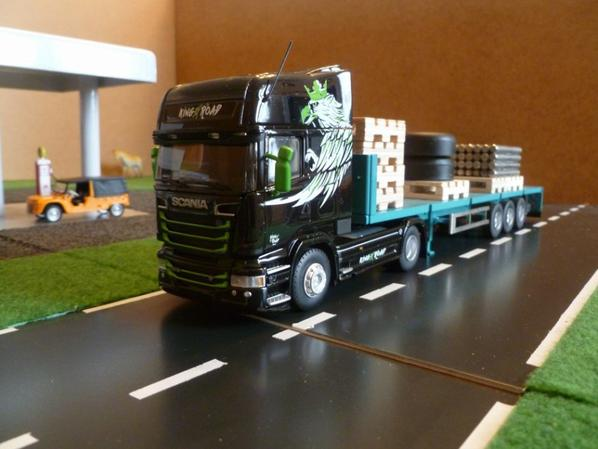 scania streamline topline king of the road