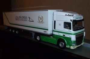 daf XF euro 6 space cab transports gauthier.