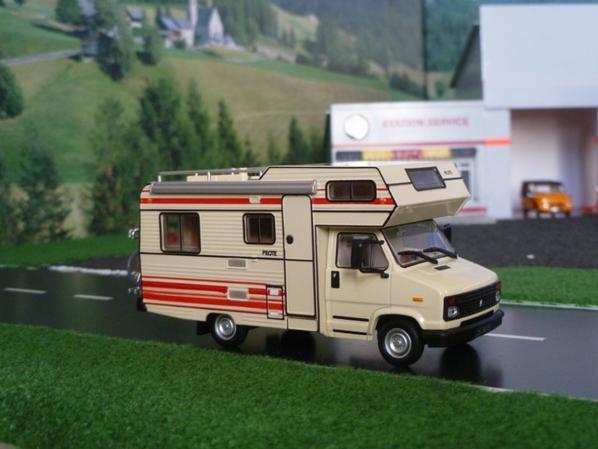 camping-car pilote R470 citroen C25