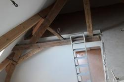 plafonnages d'un ancien grenier 3