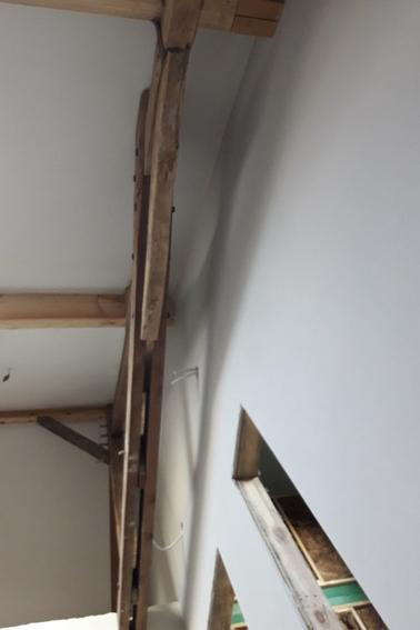 plafonnages d'un ancien grenier 4