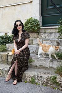 23 mai - Dita Von Teese - Le 68e Festival du Film de Cannes annuel