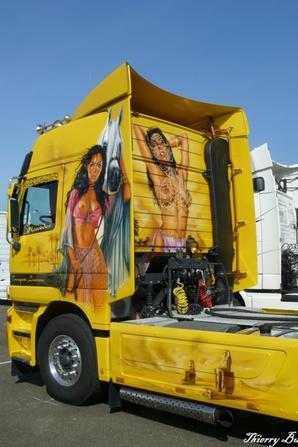 Peinture sur Camion ( Nogaro )