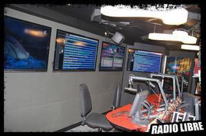 le nouveau Studio de radio Libre