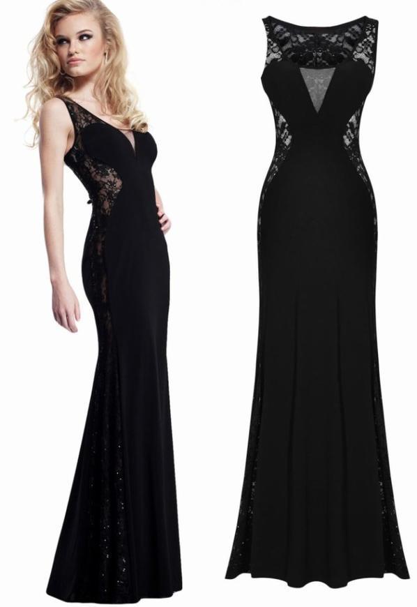 evening dress maxi dress