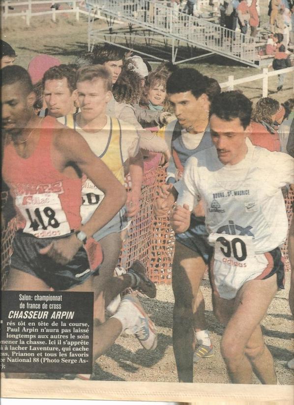 Championnats de France FFA de Cross-Country 1988