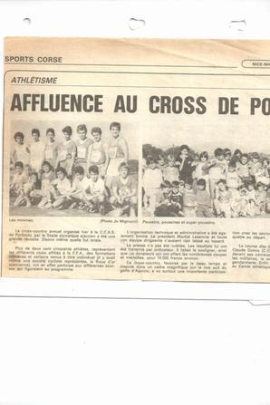 Cross de Porticcio 1986