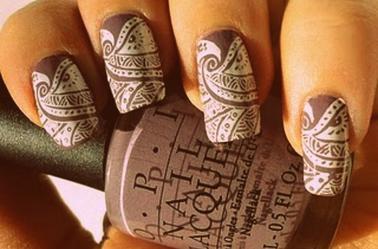 Nail Art .