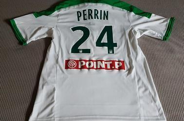 Maillot PERRIN Porté Coupe de la Ligue.